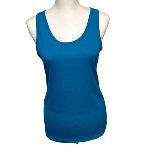 Be Inspired Ribbed Yoga Tank L NWOT